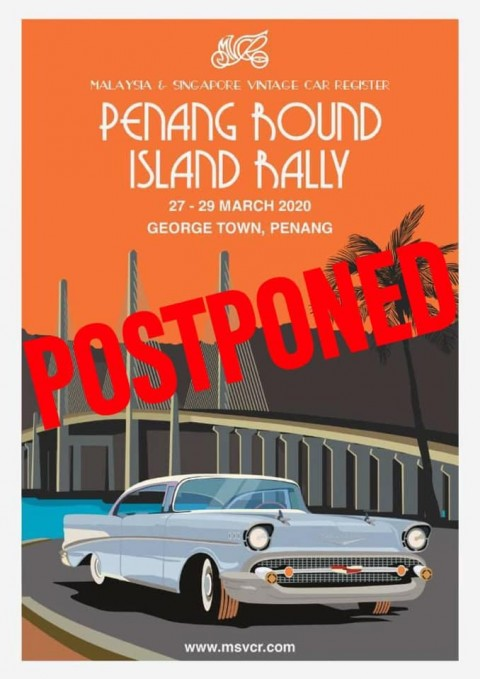 Penang Round Island Rally – Postponed