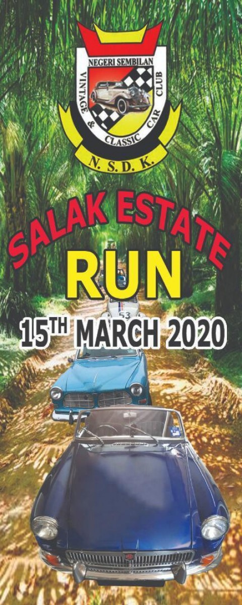 Negeri Sembilan Vintage and Classic Car Club – Salak Estate run